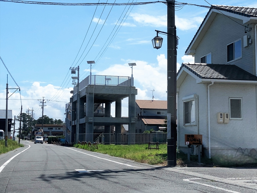 麺屋 たいちゃんへの道中