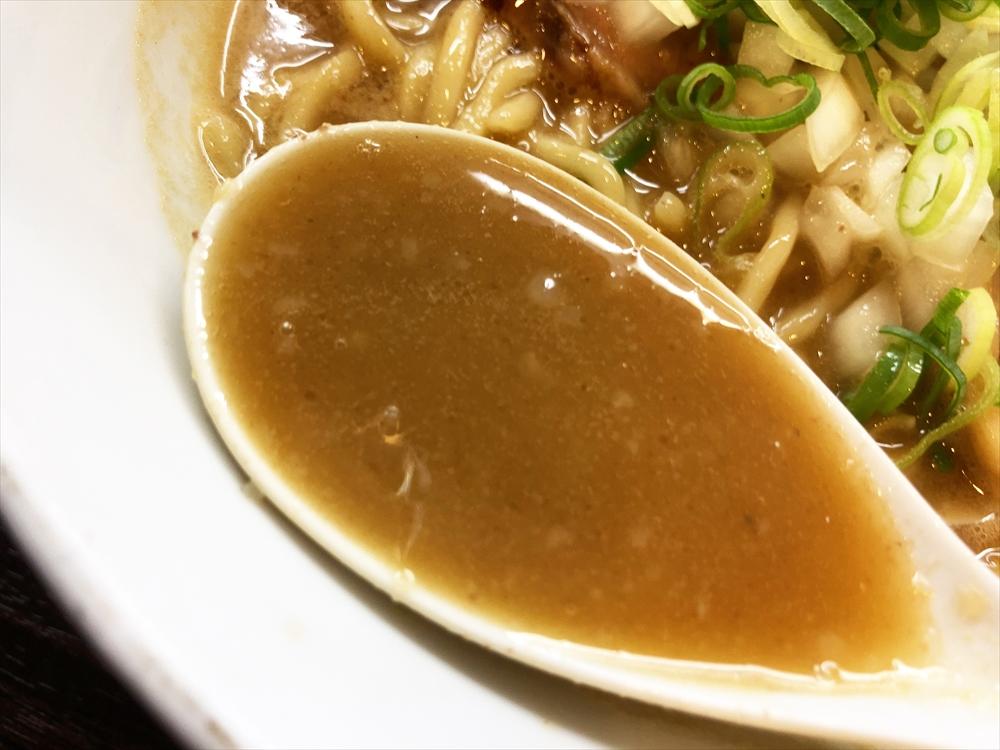 浜田山「(魚介豚骨)らーめん」スープ