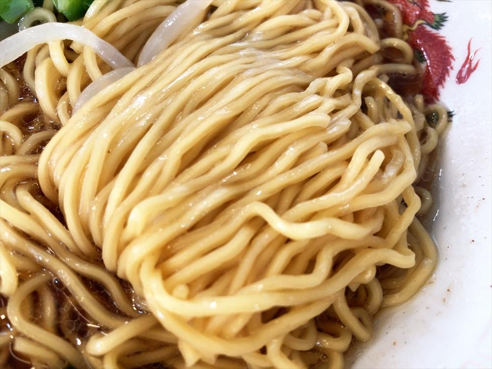 栄福「ラーメン」麺