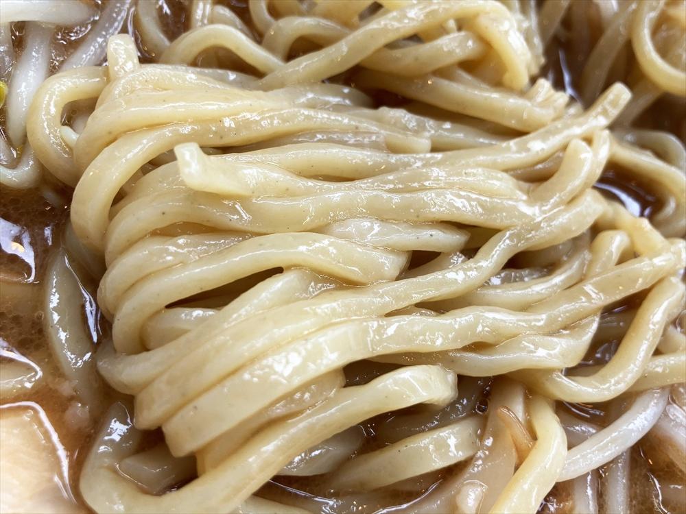 フジヤマ55 浜松中央店「濃厚ラーメン」麺