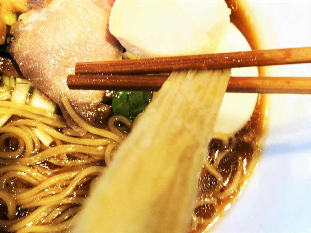 Soul Noodles THE R&R「醤油ソバ」麺