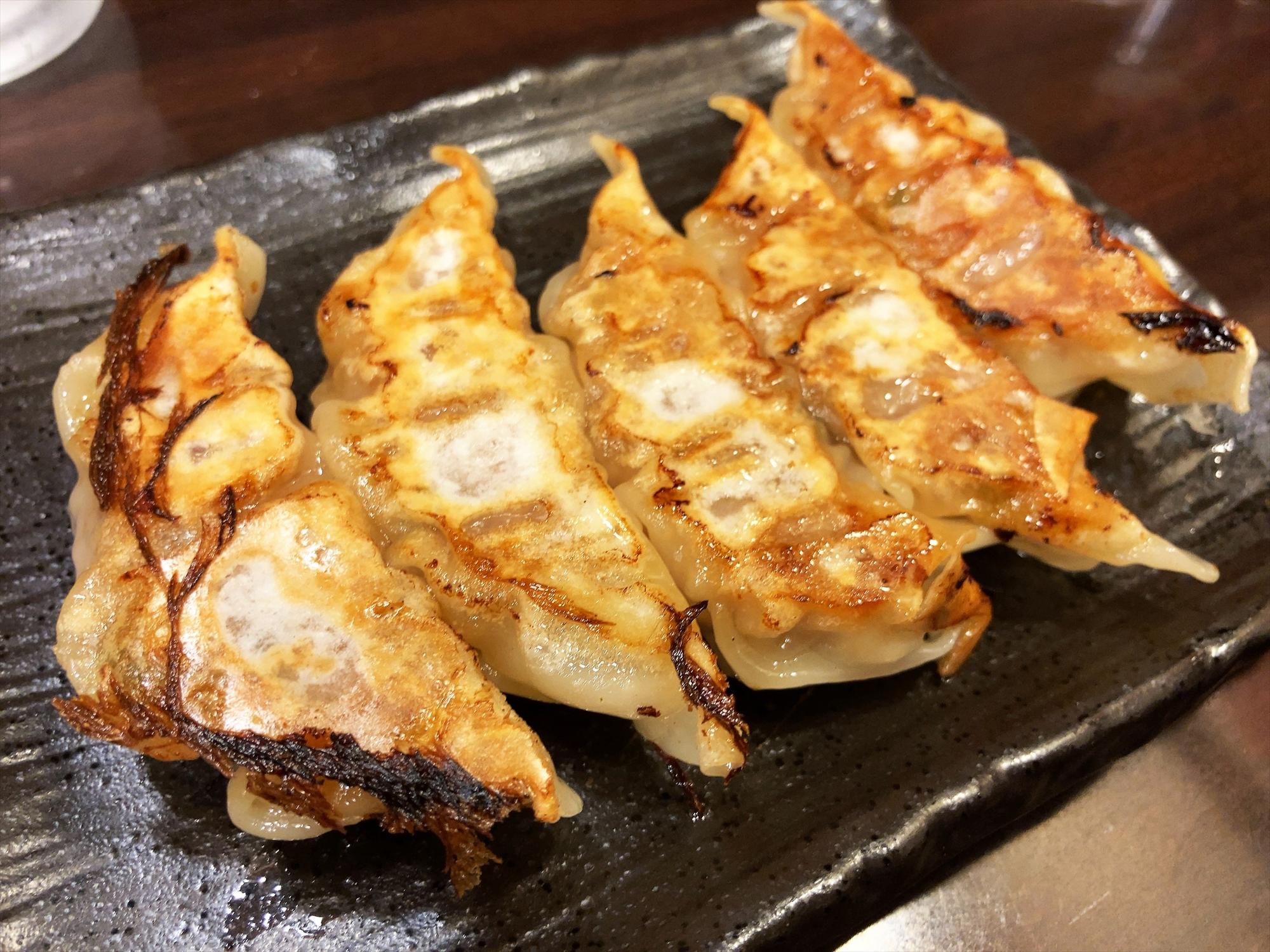 麺屋 つけ丸 有楽店「浜松ギョーザ」