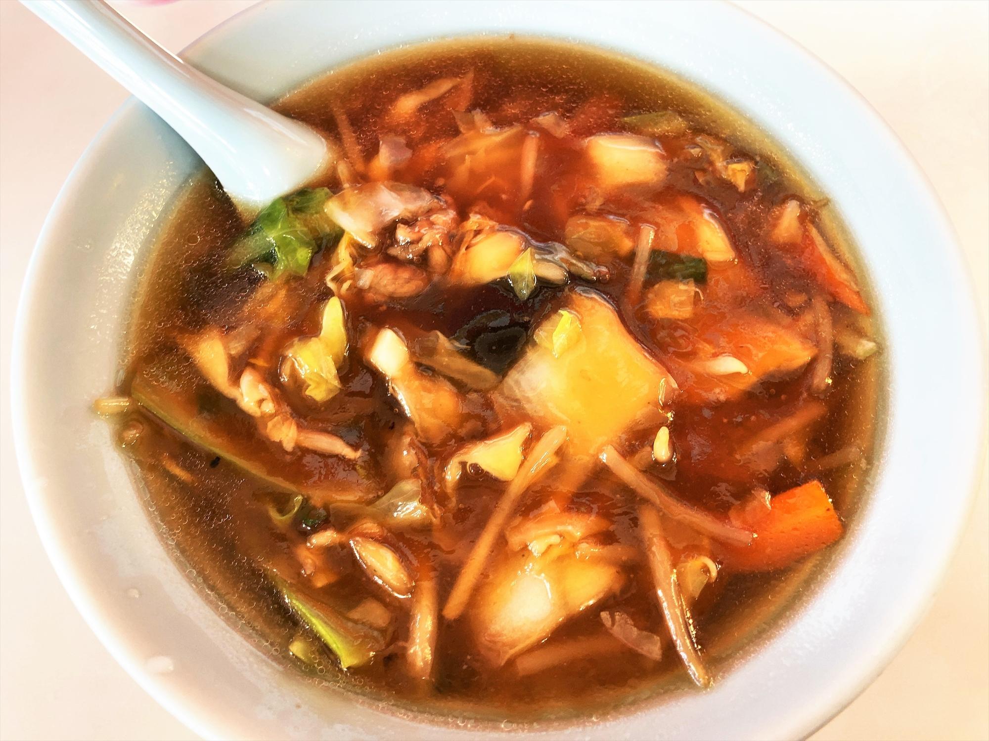 中国料理 末広飯店「広東麺」