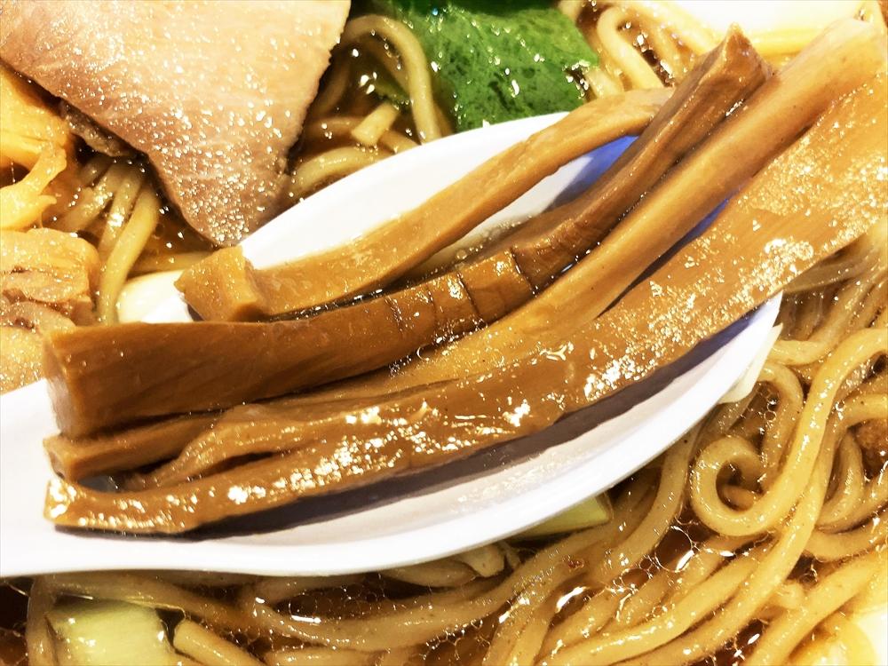 Soul Noodles THE R&R「醤油ソバ」メンマ