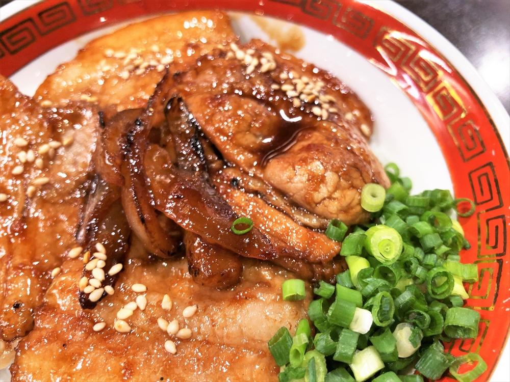 麺創房 一凛「焼肉丼」