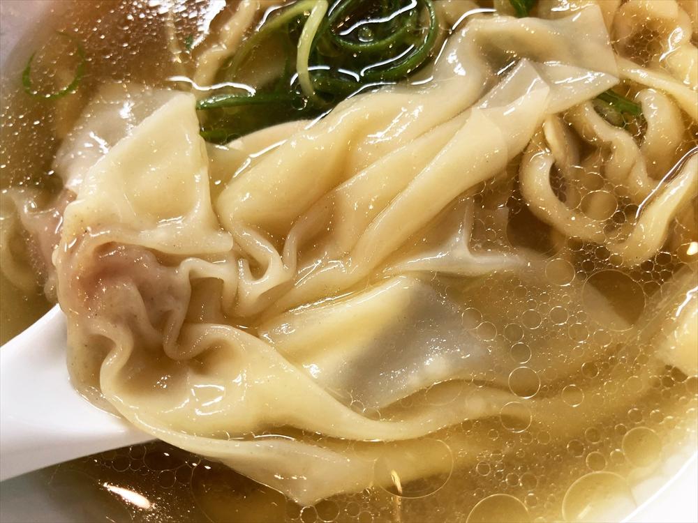 麺 㐂色「ワンタン塩そば」ワンタン
