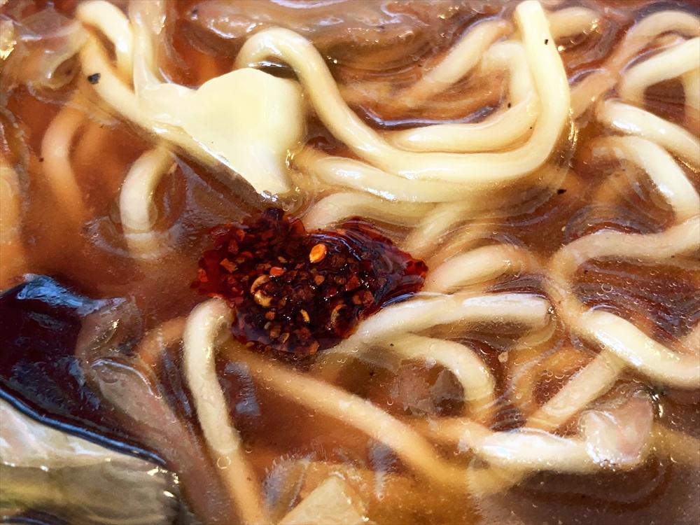 中国料理 末広飯店「広東麺」味変