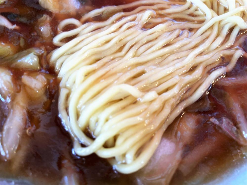 中国料理 末広飯店「広東麺」麺