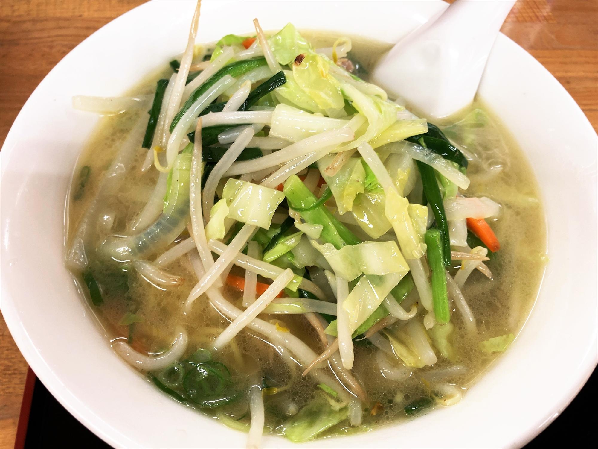 中華厨房 東風「塩野菜ラーメン」