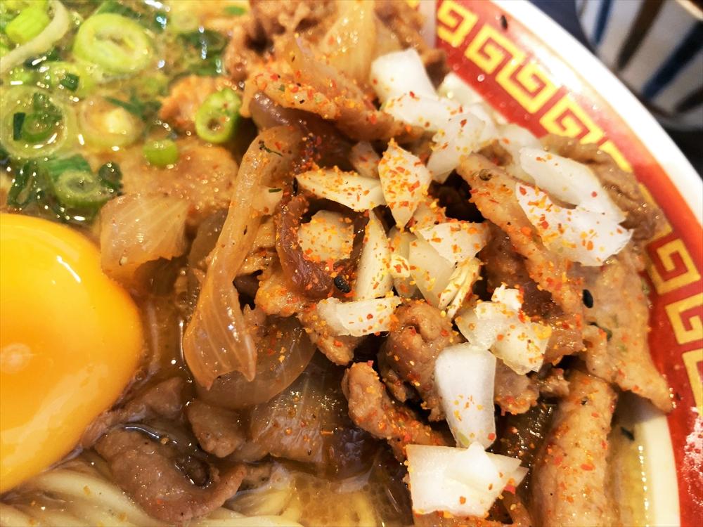 時代麺房 ライオン「徳島ラーメン」焼肉