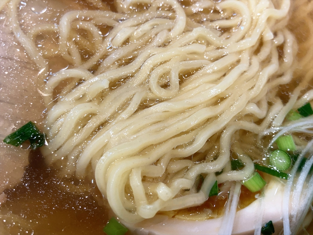 中華そば 海「中華そば」麺