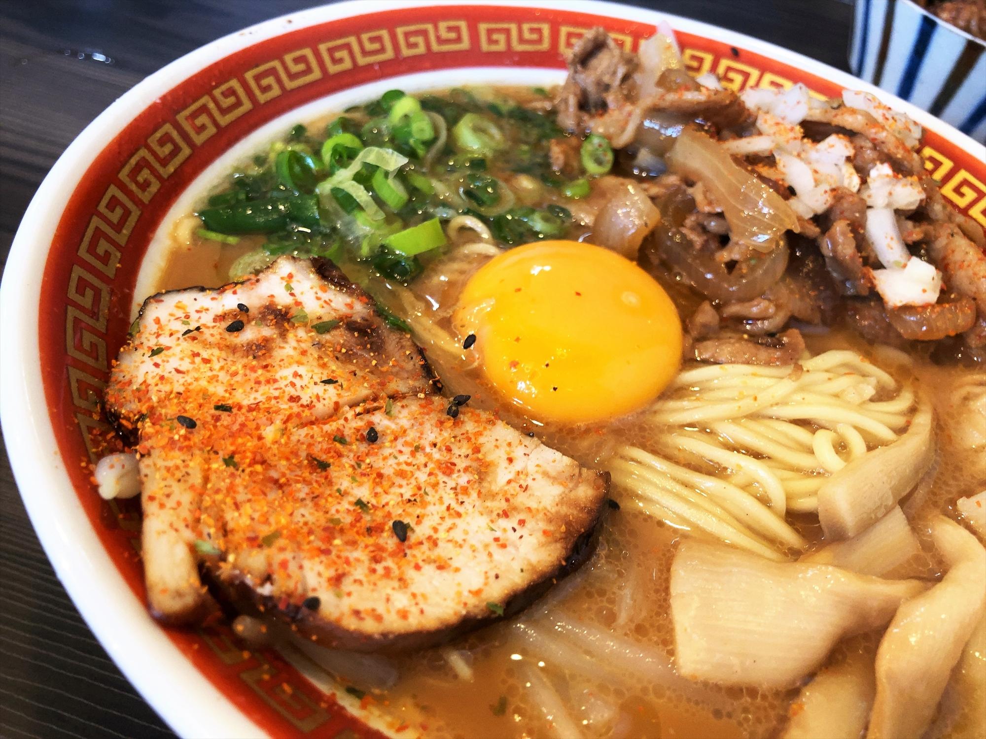 時代麺房 ライオン「徳島ラーメン」