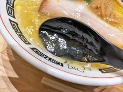 中華そば 楽描「浜北コーチン 中華そば しお」スープ3