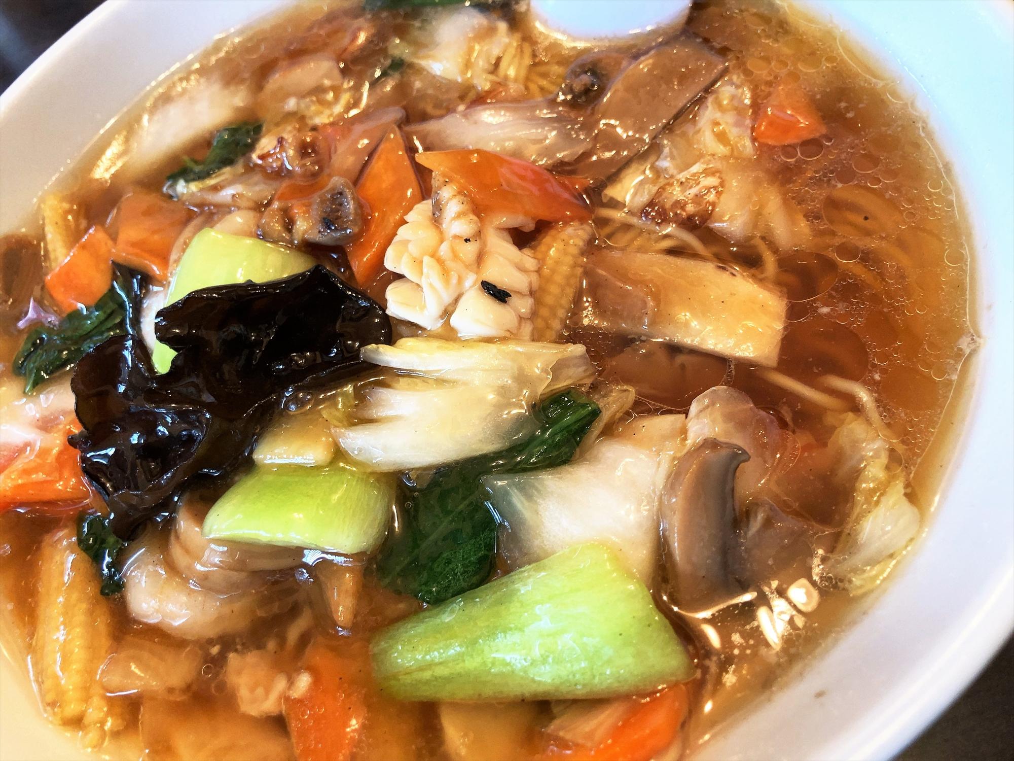 本場中国料理 999 小籠包「五目湯麵」
