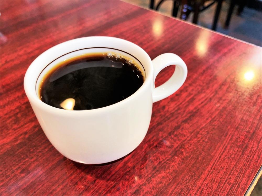 留園支店「五目ラーメン」コーヒー