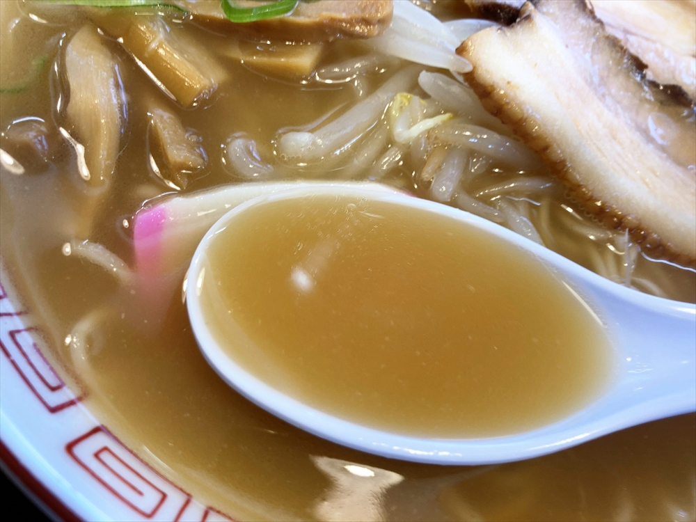 中華そば 池田宿 千空「千空そば」スープ