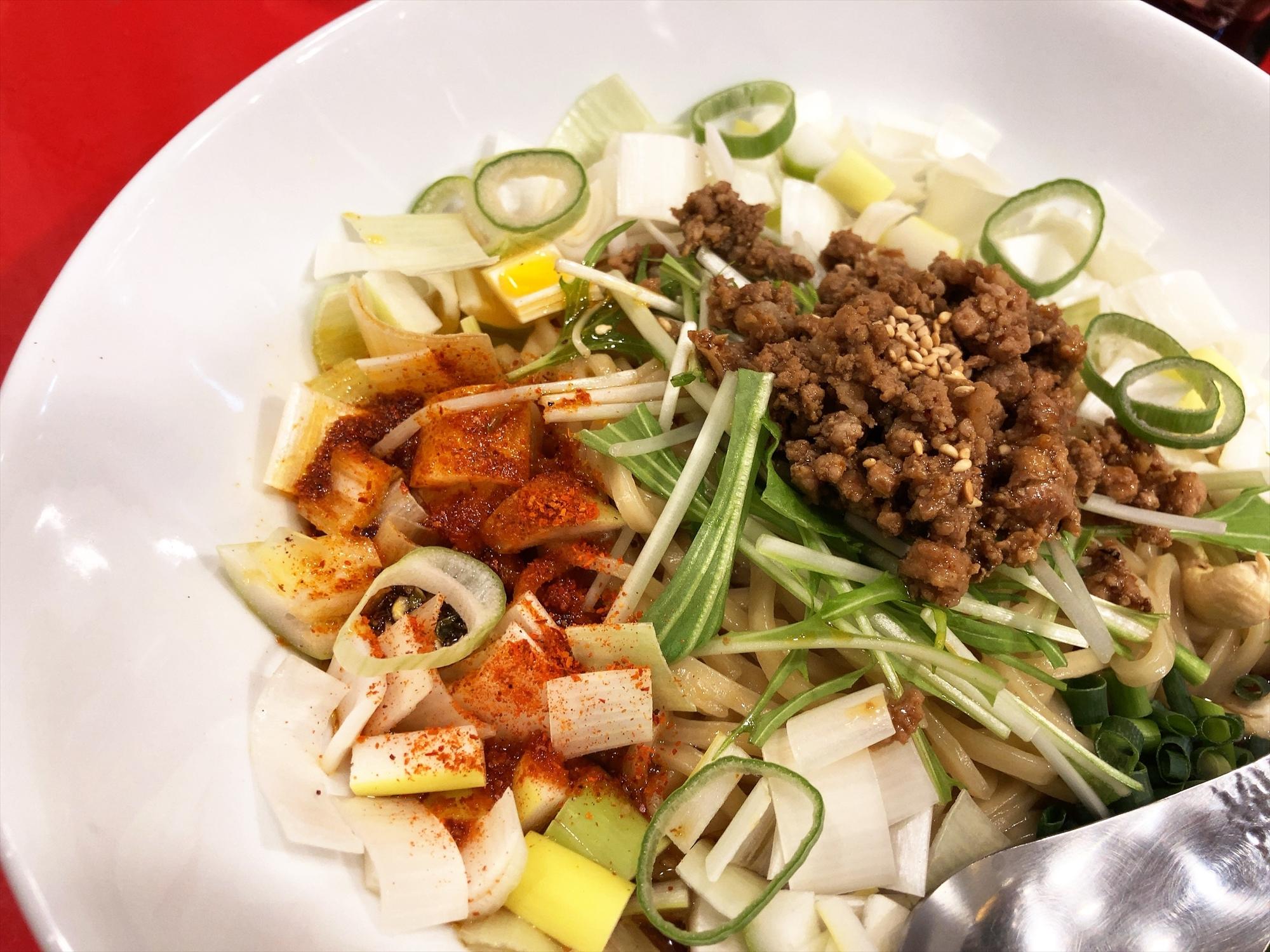 汁なし担々麺っぽい専門店 ラボラトリー「ネギタン」