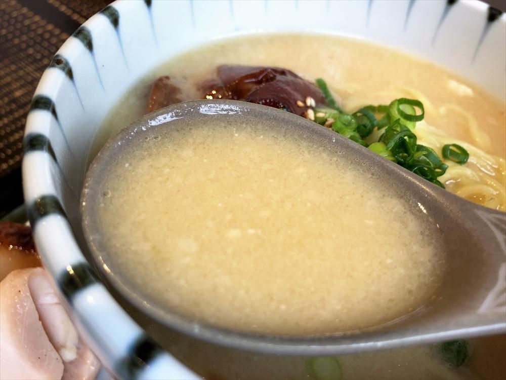 色彩膳 八っすんば「豚ちんたんの酒粕みそバター」スープ