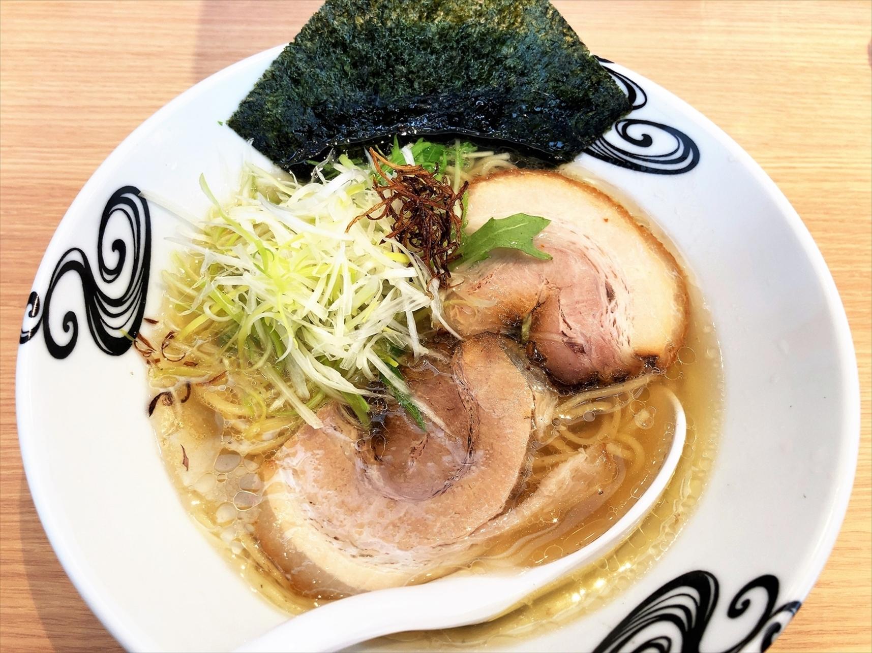 京都 麺や 向日葵「淡麗塩そば」
