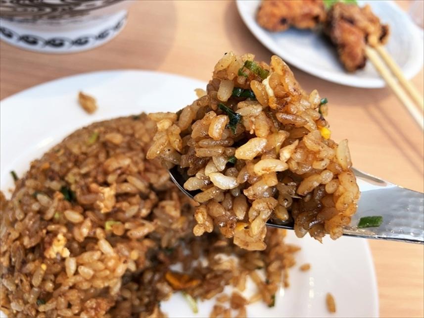 京都 麺や 向日葵「焼きめし(小)」