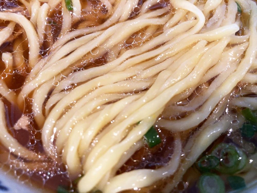 麺屋 なかの「鶏焦がし(醤油)」麺