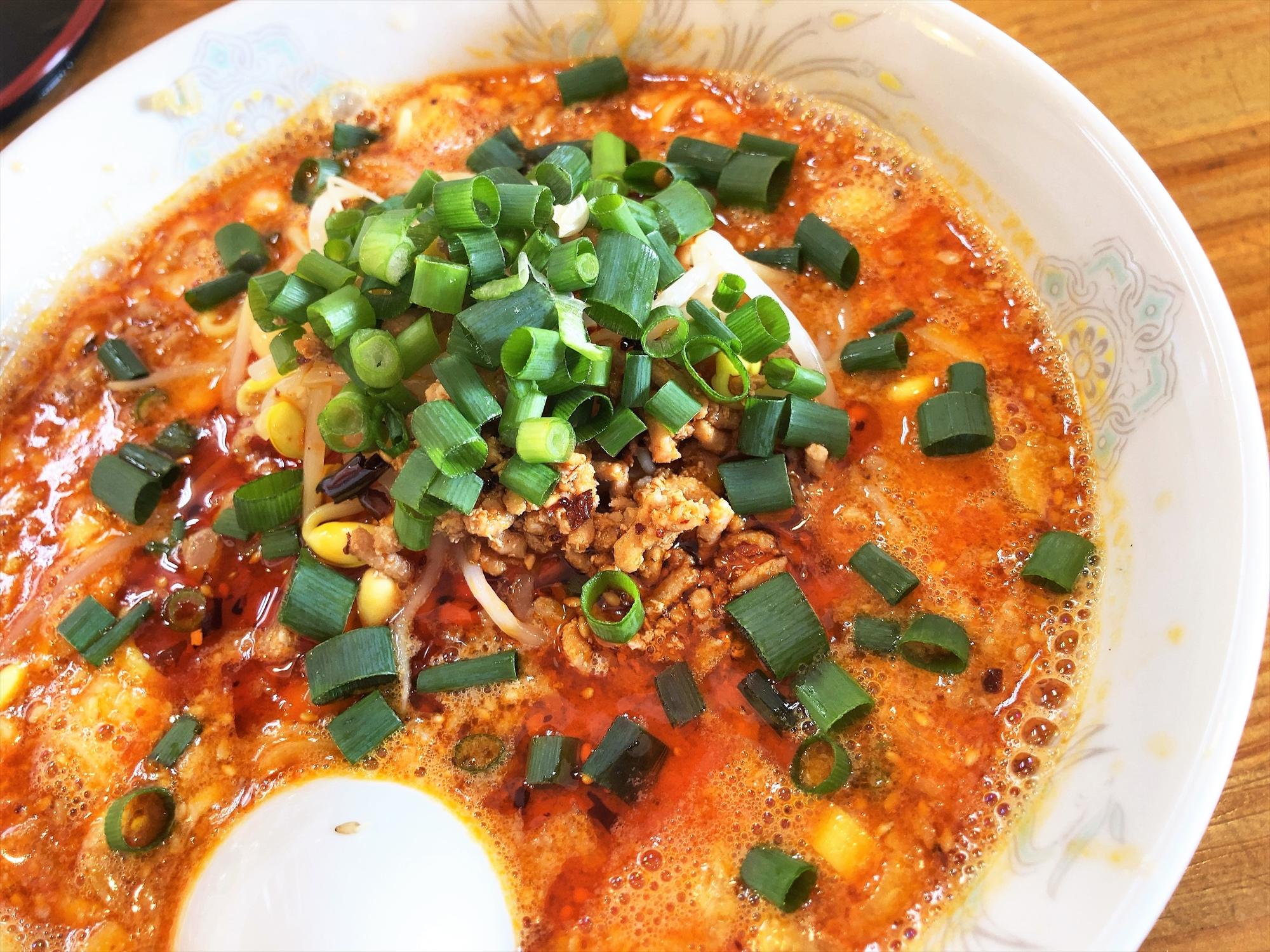 四川料理 蘭「タンタン麺(白ゴマ)」