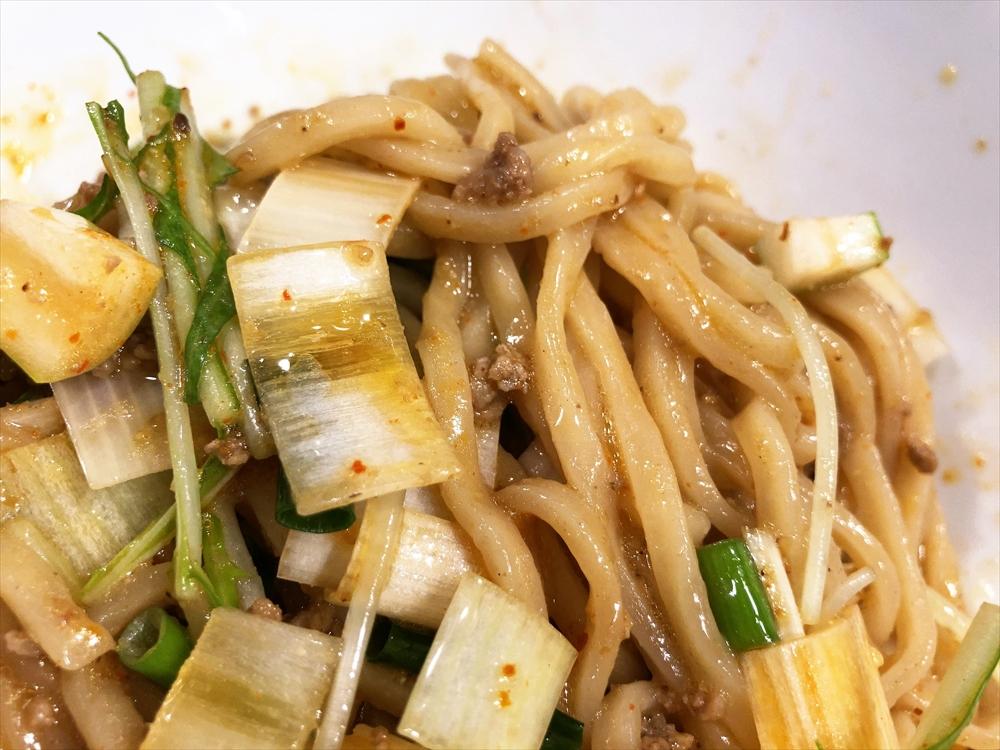 汁なし担々麺っぽい専門店 ラボラトリー「ネギタン」麺