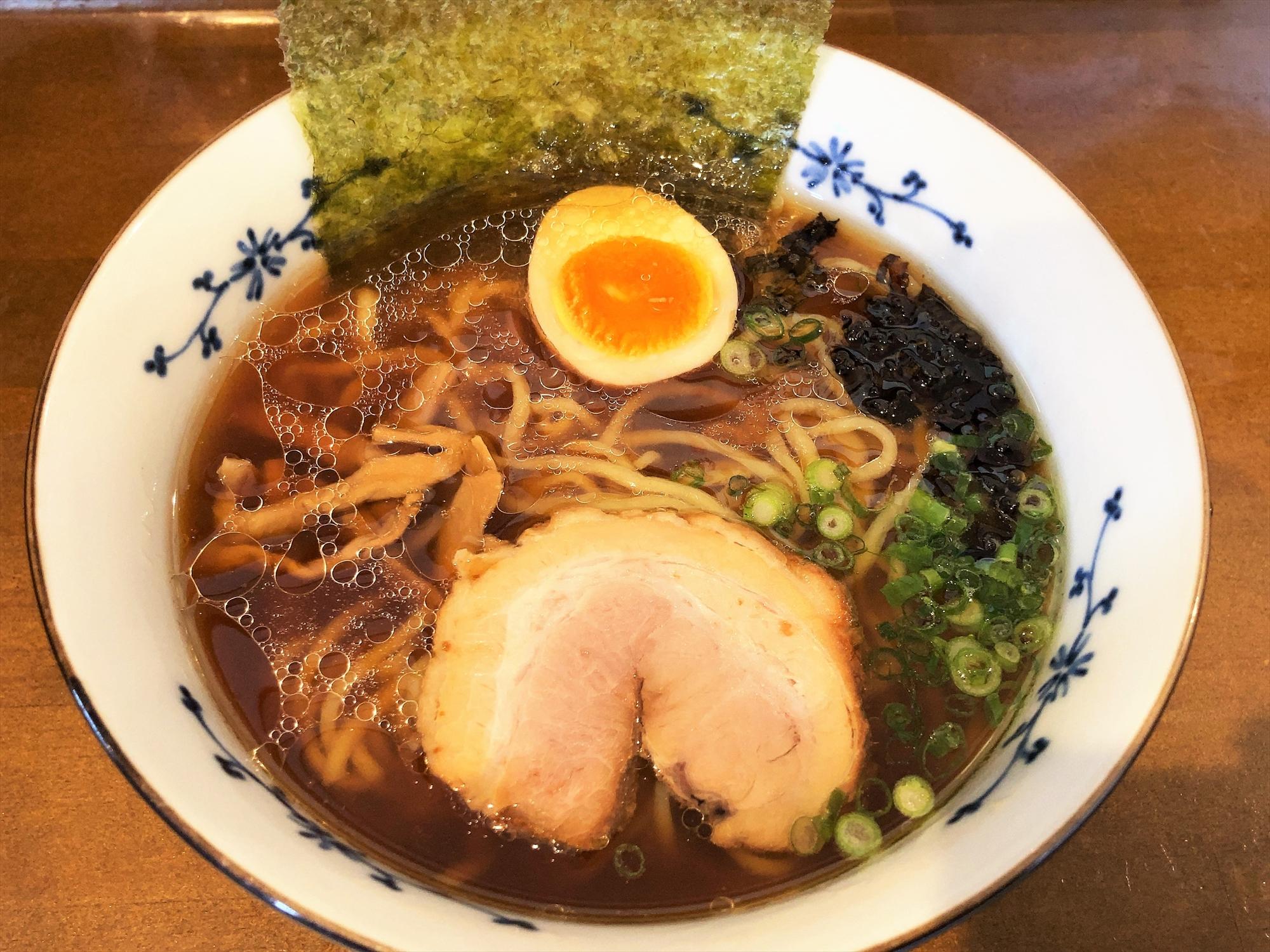 麺屋 なかの「鶏焦がし(醤油)」