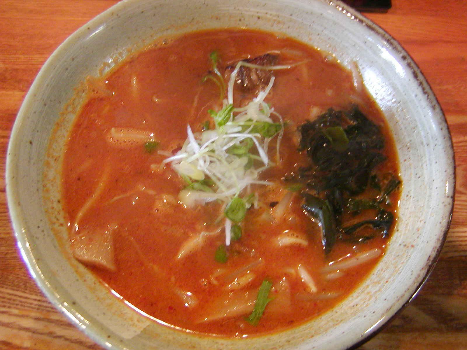 節麺屋 つぼみ 小松店【辛し味噌そば】 @愛知県豊橋市