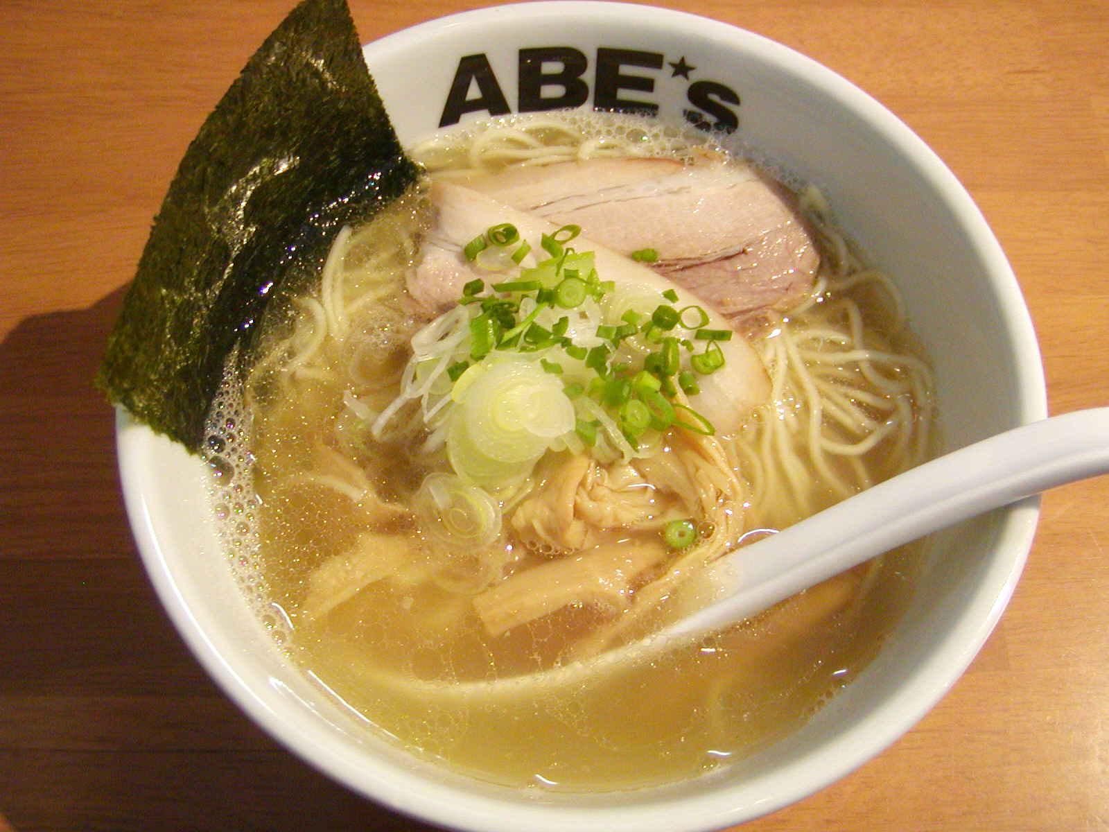 ラーメン  ABE's(アベズ)【煮干ラーメン・塩】 @静岡市葵区