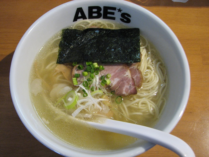 ラーメン ABE's【煮干2】 @静岡市葵区