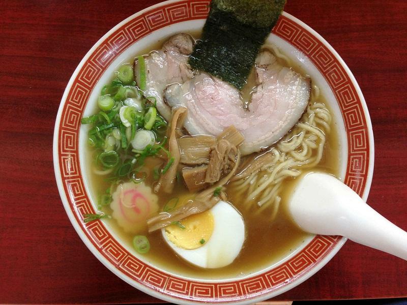 ラーメン 味佳【醤油ラーメン】 @浜松市東区丸塚町