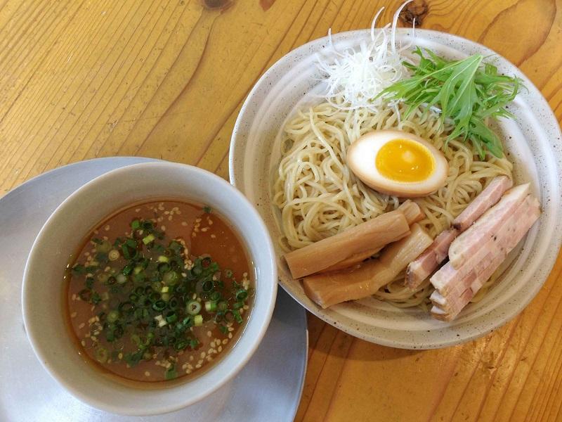 めん奏心【冷煮干つけ麺・味噌】 @島田市