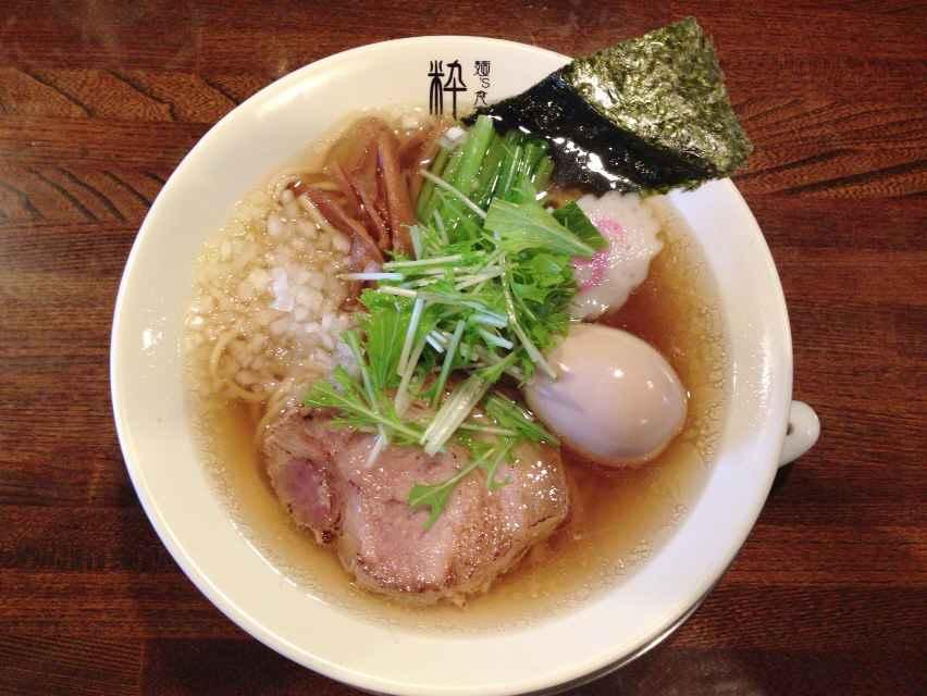 麺's食堂 粋蓮【塩らぁ~麺】 @焼津市