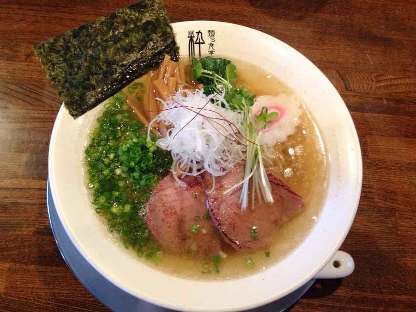 麺's食堂 粋蓮【さばらぁ~麺】【丸鶏醤油そば】 @焼津市