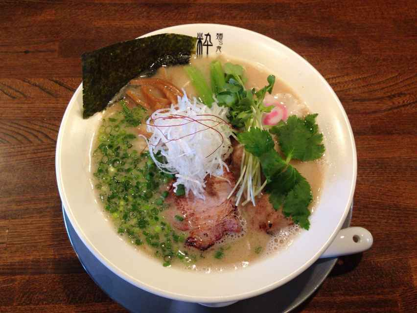 麺's食堂 粋蓮【鯖白湯らぁ~麺】 @焼津市