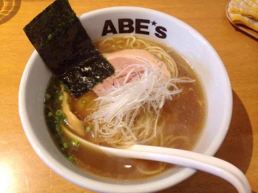 ラーメン ABE's【煮干ラーメン1】 @静岡市葵区