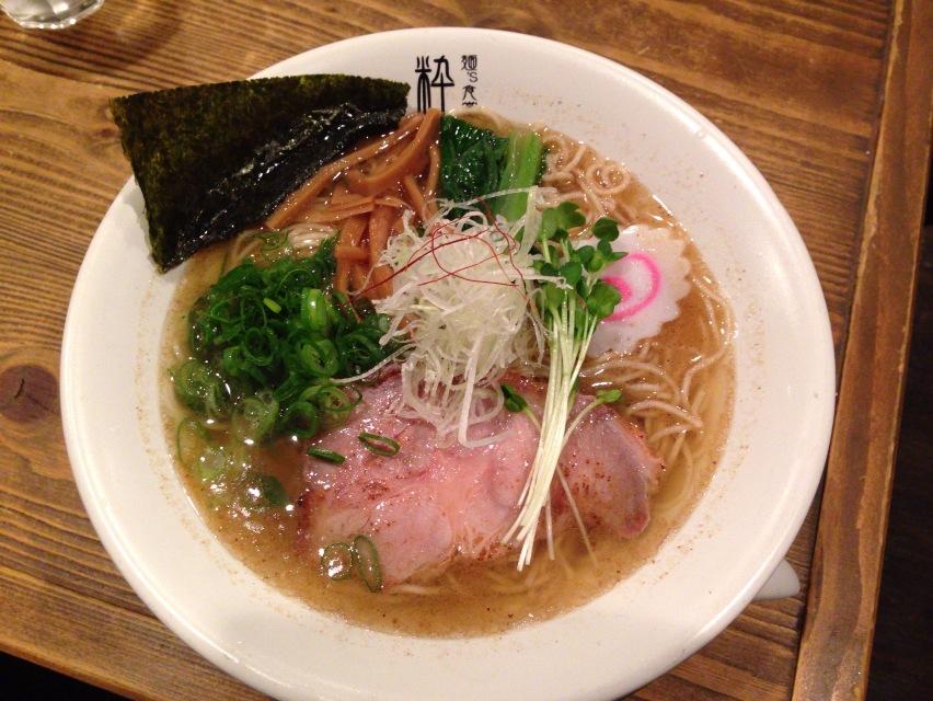 麺's食堂 粋蓮【さば塩らぁ~麺(大盛)】  @焼津市
