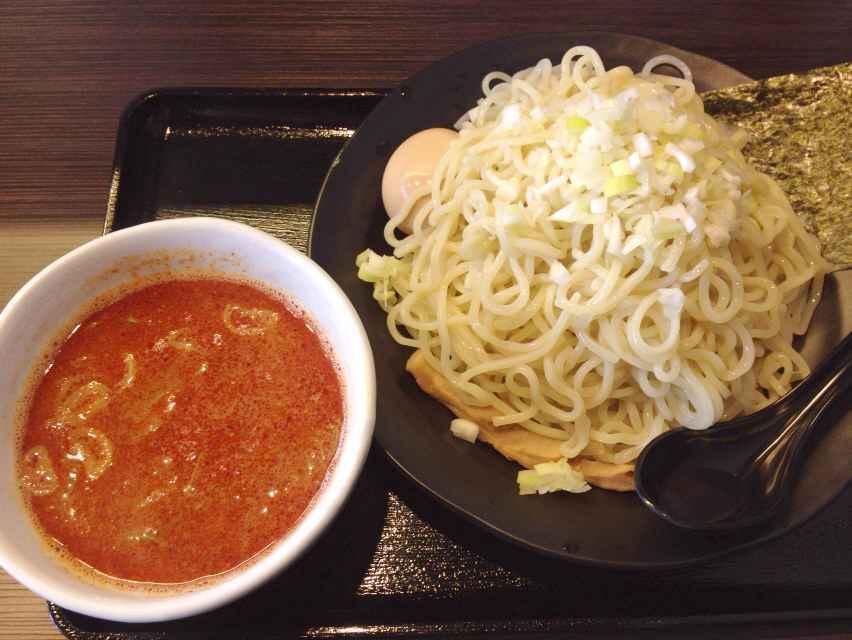 麺喰い  kakeru【天空かける辛・豚骨魚介  トン辛節のつけ】  @浜松市中区幸