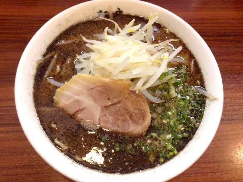 麺の房  味わい亭【辛口とんこつ】  @御前崎市