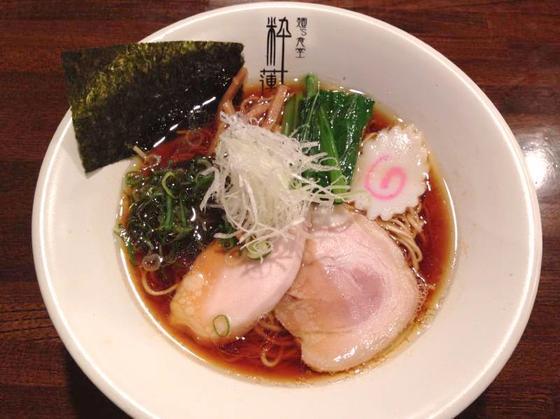 麺's食堂 粋蓮【丸鶏醤油らぁ麺】  @焼津市
