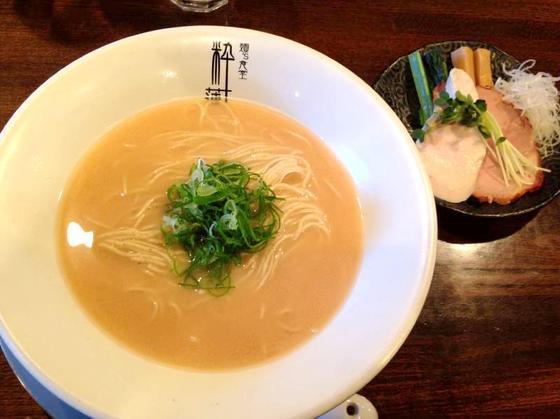 麺's食堂 粋蓮【さけ白湯らぁ麺】  @焼津市
