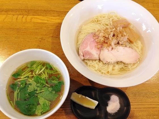 麺屋  さすけ【昆布水の鯛煮干しつけそば】  @掛川市