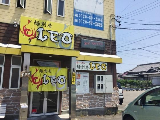 麺創房  LEO【木桶醤油拉麺  ~hybrid~II】  @焼津市
