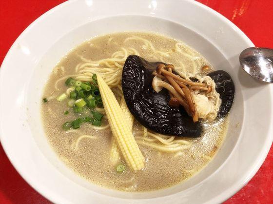 会員制ラボラトリー【8種きのこのカプチーノ仕立て  麺を入れて】  @浜松市中区板屋町